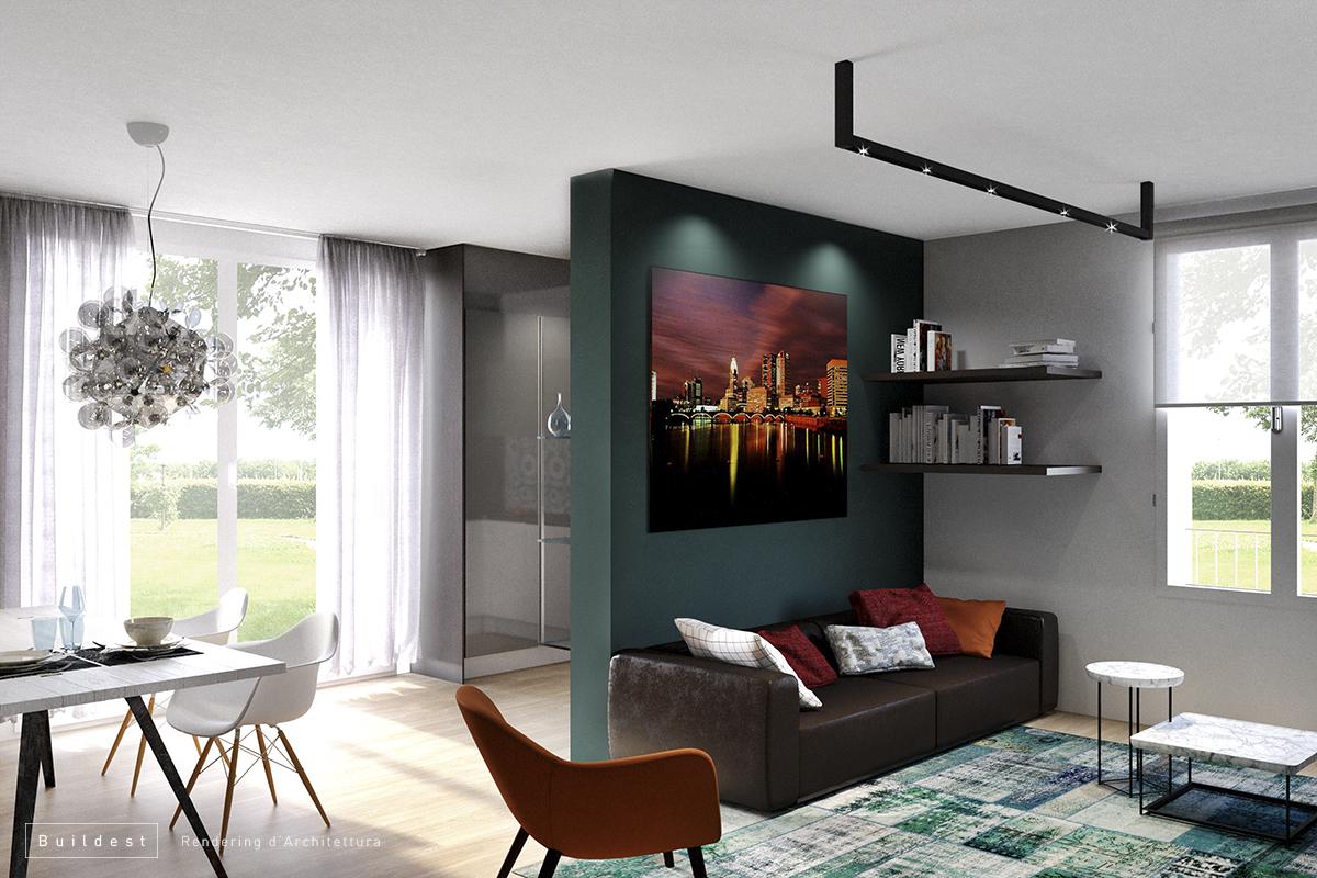 Buildest_Interior_Residenziale Magreta_02_3d_rendering_architettura_modena