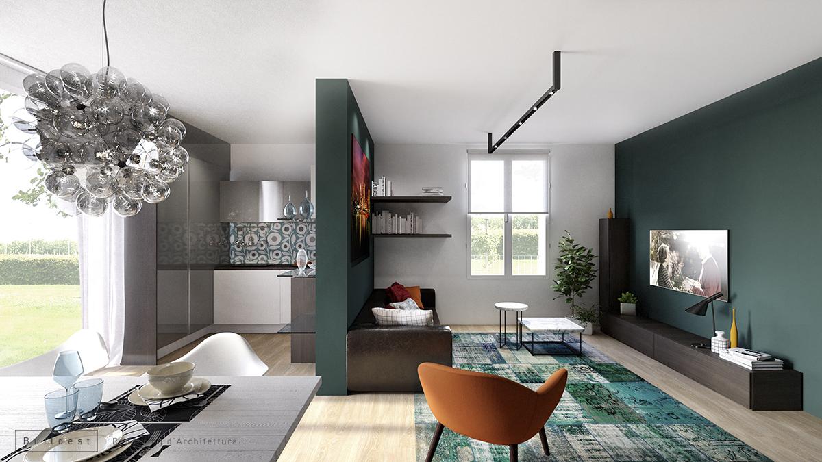Buildest_Interior_Residenziale Magreta_03_3d_rendering_architettura_modena