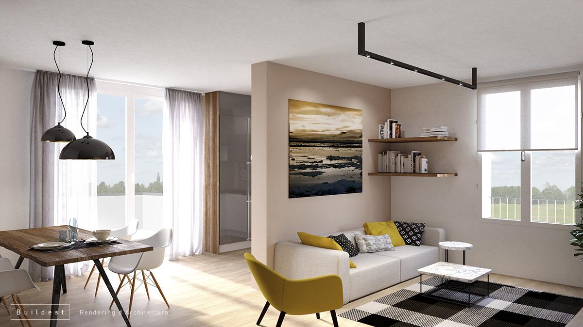 Buildest_Interior_Residenziale Magreta_04_3d_rendering_architettura_modena