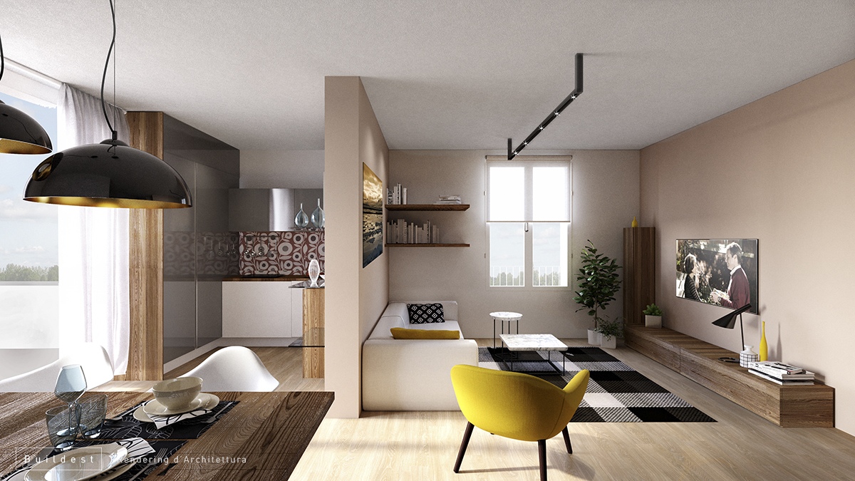 Buildest_Interior_Residenziale Magreta_05_3d_rendering_architettura_modena