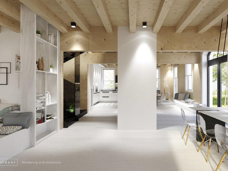 Buildest_Interior_Villa Cavezzo_04_3d_rendering_architettura_modena
