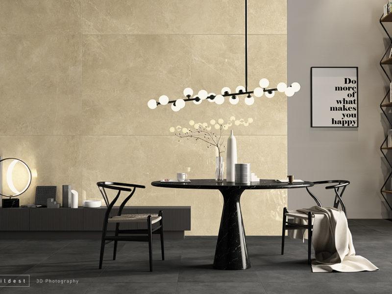 Buildest_beige living_3d_rendering