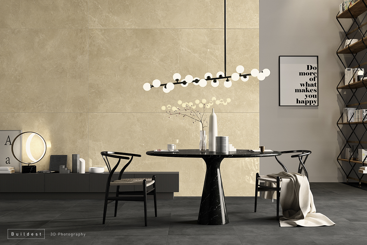 Buildest_beige living_3d_rendering